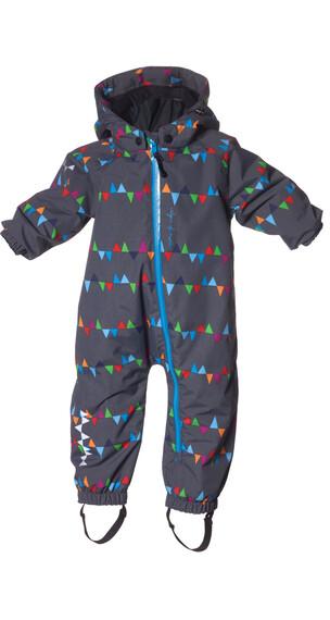 """Isbjörn Toddlers Padded Jumpsuit PeaksGrey"""